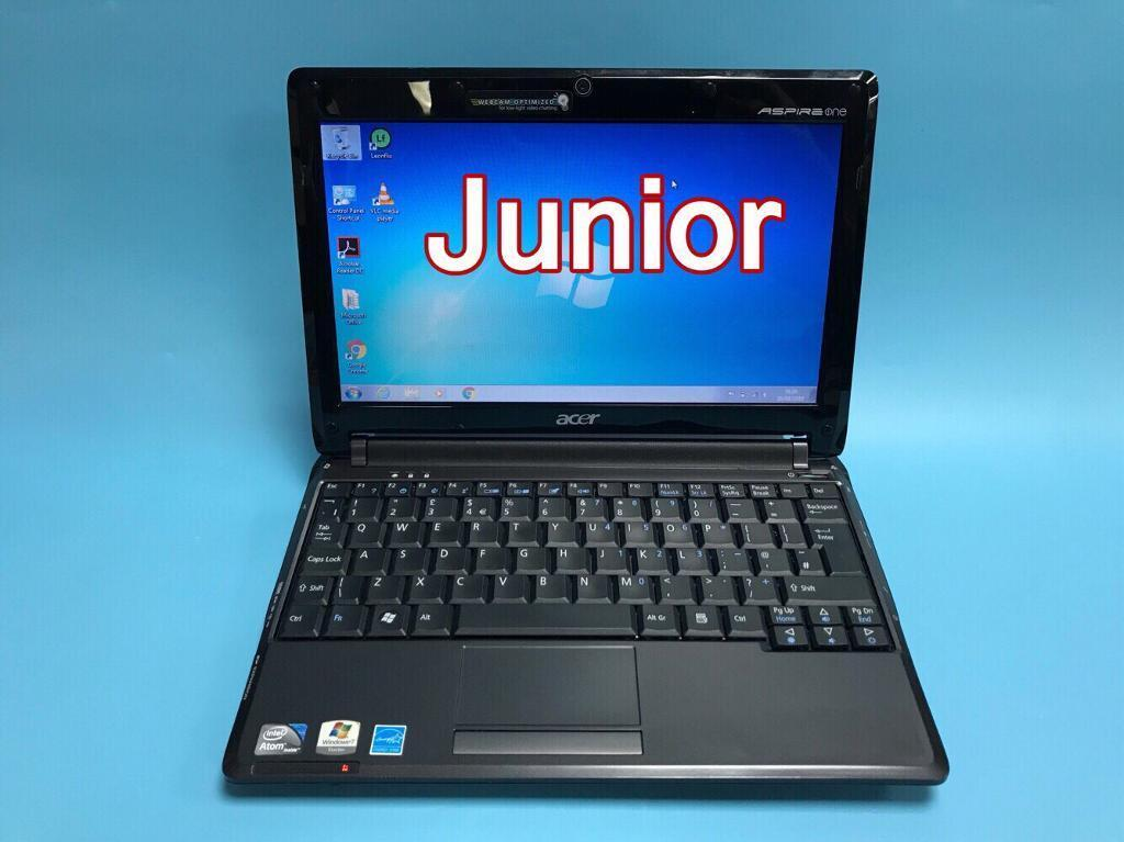 acer quick 160gb 2gb ram laptop notebook win 7 ms office very