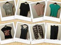 Womens size 8 clothes bundle (8 items)