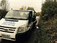Ford transit recovery with facelift