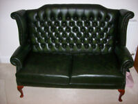 Leather 3 Piece Suite - Hand Made by Martin & Parker - Hardly Used