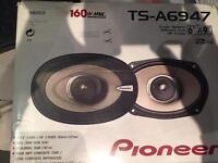 Pioneer 6x9 rear speakers