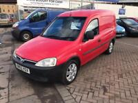 03 VAUXHALL COMBO VAN 1.7 TURBO DIESEL EX ROYAL MAIL SUPERB DRIVE AND COND JUST HAD NEW MOT NO VAT !