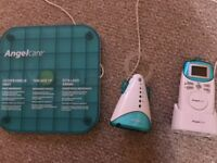 Angel Care baby monitor and sensor pad - excellent condition