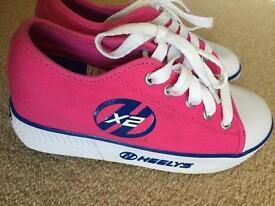 Girls and boys heelys