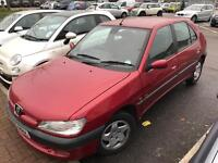 Peugeot 306 IMMACULATE 1 OWNER. Mot. TAX. ALLOYS. WARRANTY GUARANTEED