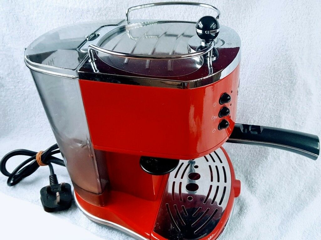 Delonghi Icona Vintage Ecov 311gr Espresso Coffee Machine Red Genuine Next To New In Camden Town London Gumtree