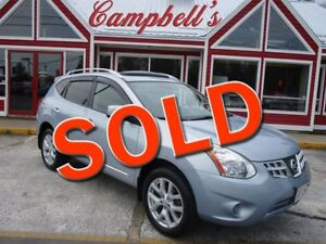 2013 Nissan Rogue SV BACK UP CAMERA SUNROOF HTD LEATHER