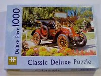 £1, New, 1000pc Deluxe Jigsaw Puzzle, 1908 Renault car