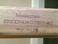 Mothercare Stockholm cotbed