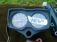Kawasaki AR80 clocks