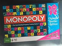 2012 Olympic edition monopoly game