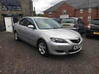 2005 Mazda 3 Saloon 1.6 TS Silver 5 doors Petrol, 90k Miles FSH, 2 Owners, MOT March 17, X2 Keys
