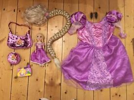 Girls Disney rapunzel bundle