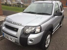 2006 LAND ROVER FREELANDER FREESTYLE TD AUTOMATIC 2.0L DIESEL 3 DOOR HARD TOP ONE FORMER KEEPER