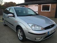 2002 Ford Focus Zetec**11 Months mot**Drives well**Cheap Family car**