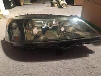 Vauxhall Astra drives side headlight