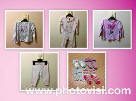 Girls size 9-12 months clothes bundle