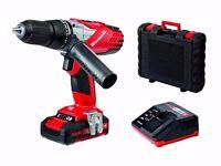 Einhell Power X-Change 18V Cordless Li-Ion Combi Impact Hammer Drill + CASE & WARRANTY! (RRP £100!)