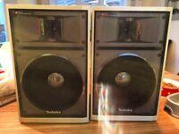 Technics SB-S5 speaker system , bookshelf speakers, fantastic condition