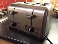 Chrome 4 slice toaster