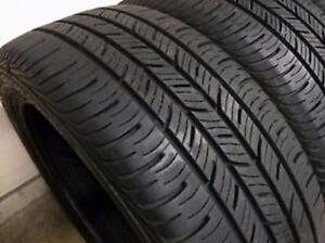 235/55R17	Continental Pro Contact Set of 4 Used allseason tires 80%tread left Free Installation and Balance