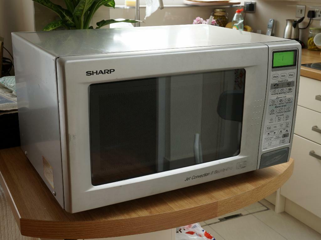 Sharp R 874m 900w Combination Microwave Oven With Top