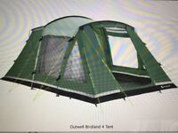Outwell Birdland 4 Tent - Used Only 3 Times