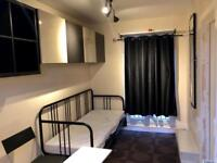 Furnished very clean & spacious STUDIO Room /Bedsit. Available Now