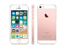 IPhone SE rose gold *ALMOST NEW*