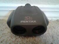 Pentax 10 x 24 UCF (Mini) Binoculars with Original Leather Case 24ucf
