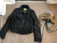 Size 10 -Leather jacket