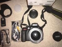 Nikon D3300 - AF-P 18-55 VR Kit - Great first DSLR