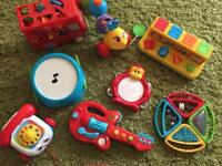 Toy bundle up to 18 months approx