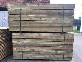"🌳Wooden Sleepers 8""X 4""x 2.4M -New-🌳"