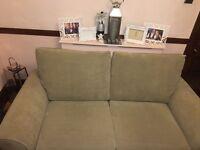 FREE DELIVERY Next Garda two seater 'dark Natural' Sofa