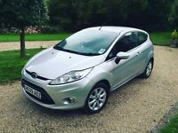 2009 FORD FIESTA ZETEC 1.4 PETROL SILVER 3 DOOR - FULL FORD SERVICE HISTORY