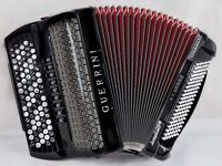 Guerrini Symphony President Accordion - Double Cassotto - 5 Row Chromatic - C System - MIDI & Mics