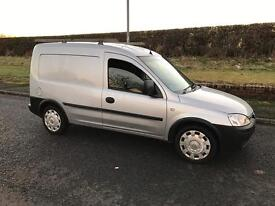 Vauxhall Combo low mileage 1.3 cdti