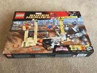 Lego 76037 Rhino and Sandman Villain Team Up Factory Sealed
