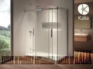Bathroom Frameless Shower Doors - Glass Shower Doors - Bathtub Doors - Bathtub Shields, Custom Shower Starting @ $300