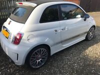 Abarth 595C Turismo - 160 BHP, 1 lady owner since new, 46k miles, dealer service history, MOT Feb'19