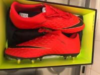 Nike hypervenom and Nike vapour football boot