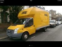 Cheapest and reliable man and van.luton van from £25p/h*