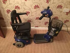 WISPA (S-787NA) BLUE MOBILITY SCOOTER