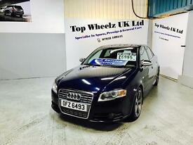 AUDI S4 QUATTRO AUTO, 2005 PLATE, 12 MONTHS MOT & FULL SERVICE HISTORY, FULLY LOADED.