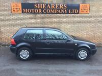 + VW GOLF ONLY 70 K MILES MOT MAY £1150+