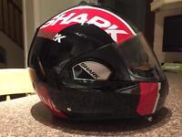 Shark evoline 3 crash helmet