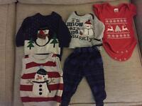 0-3 months Christmas bundle.