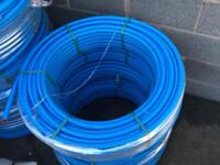 *New* 25mm X 100mtr Polypipe Cold Water Blue MDPE Pipe