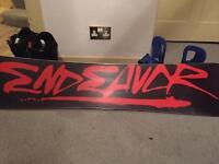 Endeavour 159 snowboard